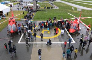 Grand succès pour les portes ouvertes de la base Rega de Lausanne