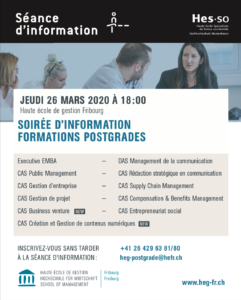 Formation en communication: séance d'informations