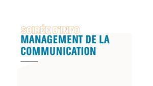 DAS en management de la communication 2021
