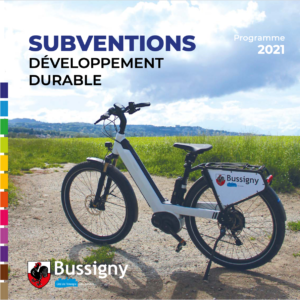 Bussigny: dépliant subventions 2021